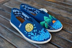 toms shoes Water Polo Beach scene Youth TOMS Shoes by BStreetShoes on Etsy, $89.00 share the best shoes