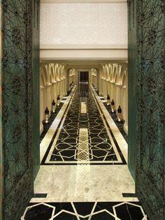 ''Jumeirah Zabeel Saray'' by Arketipo Design #Interior #Spa #Corridor #Oriental