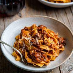 Italian Beef, Italian Recipes, Tagliatelle Pasta, Sauce Recipes, Pasta Recipes, Pasta Sauces, Meal Recipes, Butternut Squash Pasta, Recipes