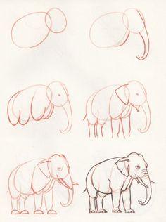 Tutorial de como fazer um elefante.