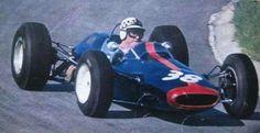 1965 Dutch GP, Zandvoort : Ireland Innes, , Lotus-BRM 25 #38, Reg Parnell Racing Team, Qual. (ph: pinterest.com)