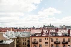 Roof top view Stockholm Arbetargatan 24 a | Fantastic Frank