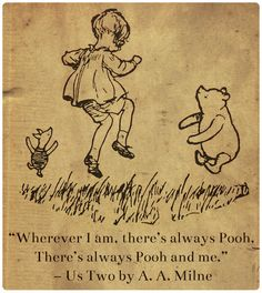 """Us Two"" from Now We Are Six by A. A. Milne 