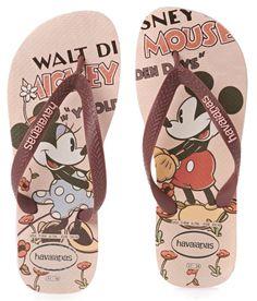 80931f7318a04f Havaianas Disney Stylish Flip Flops - Crystal Rose