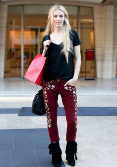Nueva York Fashion Street - StreetStyle - Moda Otoño Invierno 2012 - Tendencias, glamour y celebrities - ELLE.ES