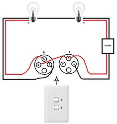 image result for 240 volt light switch wiring diagram