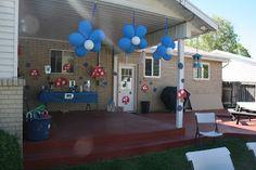 Polster Family: Smurf Birthday