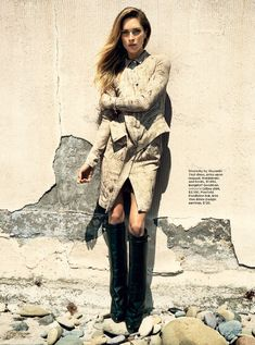 Erin Wasson is a Western Beauty in Hilary Walshs Shoot for C Magazine