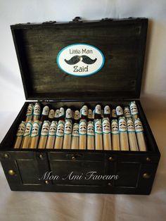 Premium Little Man Mustache Cigar Gift or Shower by MonAmiFaveurs
