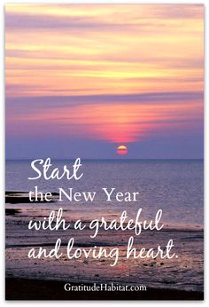 Sending love and gratitude.  Visit us at: www.GratitudeHabitat.com #Happy-New-Year #Gratitude-Habitat #grateful