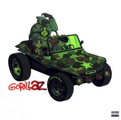 GORILLAZ - GORILLAZ- 2 LP- Sealed-New Record on Vinyl Track Listing - Re-Hash - 4-May - Tomorrow Comes Today - New Genious (Brother) - Clint Eastwood - Man Research (Clapper) - Punk - Sound Check (Gra
