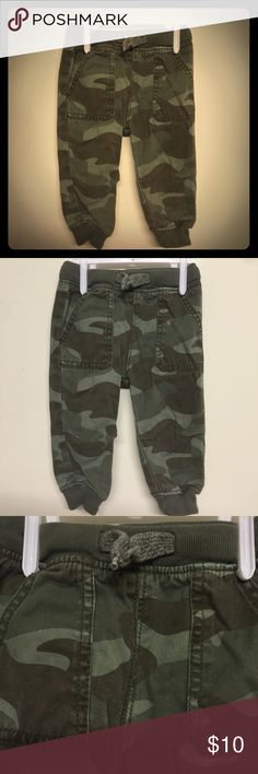 Camo pants Camo pants sweat waist. EUC. Ty For Following, liking & sharing. I absolutely love being a part of this site and POSHING is my favorite hobby🙌🏼. If you like anything you see in my closet, Bundle & Save! All you have to do is add your liked items to a bundle & I will get a notification to send you an offer! I will do my best to make it a GREAT deal for you💁🏼 You are paying shipping anyway, so SHOP away🛍 OshKosh B'gosh Bottoms Sweatpants & Joggers