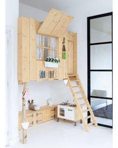 Ma chambre/cabane - Inside Closet