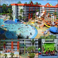 Nick hotel #Orlando water park resort    We love hotels!