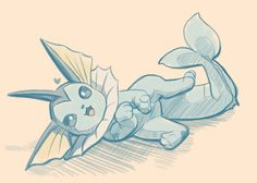 Eeveelution Fan, nyum-nums:   I heard your fave pokemon is this...