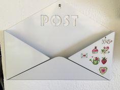 Decoupage sul porta-posta
