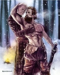 Damn! Brienne of tarth and Tormund