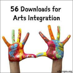 Lesson Plans and Resources for Arts Integration, EDUCATİON, Science Technology Engineering Art Math Steam Education, Teaching Theatre, Teaching Art, Teaching Resources, Education Quotes, Art Education, Programme D'art, Homemade Art, Teaching