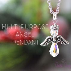 Beautiful angel pendant! #bestbuybeads #christmas #christmasjewelry