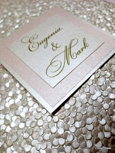 Clover Creek Embossed Pebble Paper available at Fitzgerald's Fine Stationery