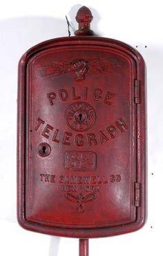 Antique Police Phone