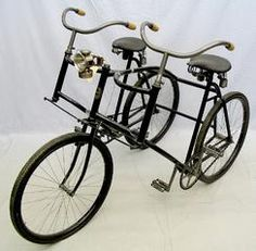 More vintage inspiration - steering linkage with common center post and only three wheels