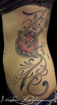swirly side tattoo - Google Search