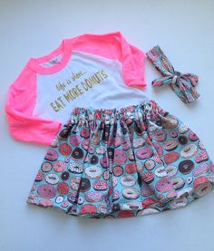 Donut outfit for donut party