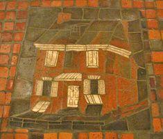 Mercer Tiles Small Buildings Mosaics Tile Mosaic Art