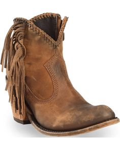 Dingo Women's Buck The Rules Fashion Booties - Snip Toe | Boot Barn Bota Country, Country Boots, Short Cowgirl Boots, Western Boots, Cowgirl Boot Outfits, Fringe Cowboy Boots, Black Fringe Boots, Cowboy Shoes, Ankle Cowboy Boots