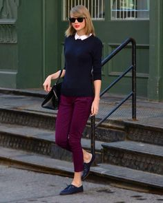 Taylor Swift / Paris casual