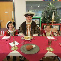 Year 4 pupils enjoy Tudor Day.