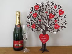 personalised freestanding wooden family tree by craft heaven | notonthehighstreet.com