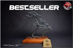 Golden Color, Silver Color, 7 Year Anniversary, Bonsai Wire, Metal Tree, Living Room Modern, Decorating Your Home, The Originals, Real Wood