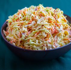 Coleslaw - ZEINAS KITCHEN Coleslaw, Zeina, Danish Food, Recipes From Heaven, Recipe For Mom, Mayonnaise, Food Inspiration, Love Food, Salad
