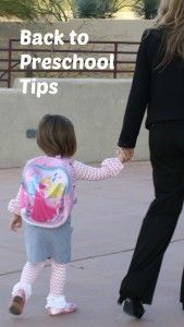 Back to School Transition Tips for Preschoolers (and their parents!) - Scottsdale Moms Blog