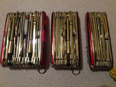 Mario's Swiss Army Knives: Victorinox SwissChamp XLT and XAVT - The Big ones!