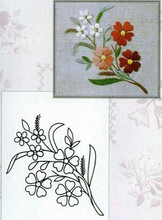 Pin Ups and Link Love: My Favourite Things This Week Hand Embroidery Videos, Embroidery Flowers Pattern, Embroidery Patterns Free, Crewel Embroidery, Hand Embroidery Designs, Embroidery Kits, Embroidery Techniques, Ribbon Embroidery, Cross Stitch Embroidery