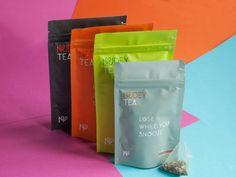 Nudeytea — The Dieline - Branding & Packaging