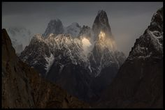Good Morning Sunshine uli biaho (6109m). Karakoram,Pakistan.