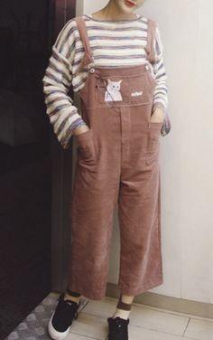 okaywowcool:  cat overalls