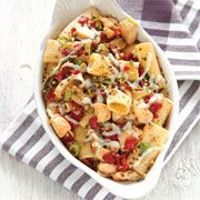 Rigatoni with Cauliflower Puttanesca By Food Network Kitchen Pasta Recipes, Cooking Recipes, Vegan Recipes, Slow Cooker, Rigatoni, Pasta Dishes, Food Network Recipes, Italian Recipes, Cauliflower