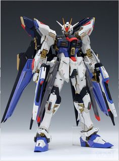 GUNDAM GUY: MG 1/100 XGMF-X20A Strike Freedom Gundam - Customized Build