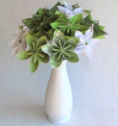 Paper origami flower vase vatozozdevelopment paper origami flower vase mightylinksfo