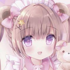 Cute Girl Drawing, Cartoon Girl Drawing, Girl Cartoon, Cute Drawings, Anime Girl Pink, Kawaii Anime Girl, Anime Art Girl, Anime Character Drawing, Cute Anime Character