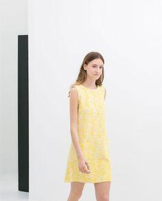 Zara amarillo vestidos primavera 2014