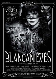 Blancanieves es una película española de 2012 dirigida por Pablo Berger, inspirada en el cuento de hadas homónimo de los Hermanos Grimm. Imita los modos de narrar del cine mudo, con fotografía en blanco y negro y la música como elemento conductor.