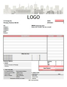 roofing invoice example