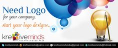 Logo design service at unbelievable  and affordable price.  www.kre8iveminds.com