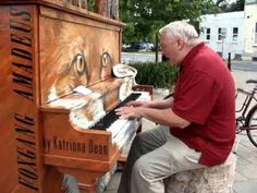 Amazing Old Man's Performance On The Piano - #Piano #Performance